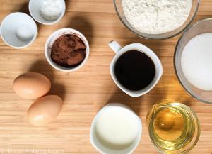 Die Zutaten für die Limetten Cupcakes