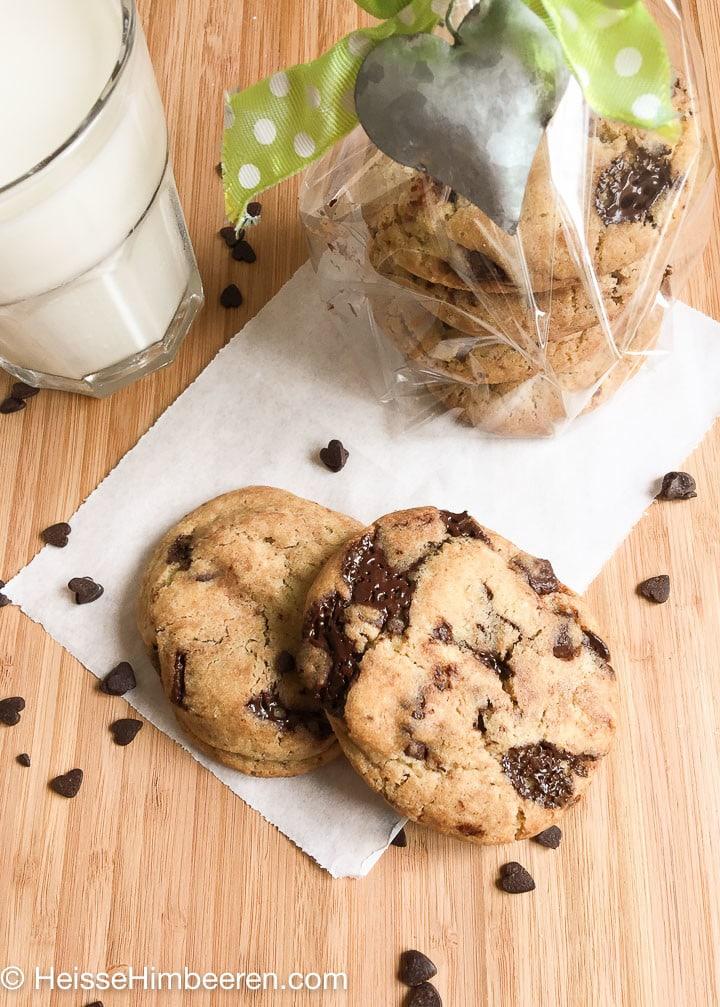 cookie rezept mit flüssigem kern