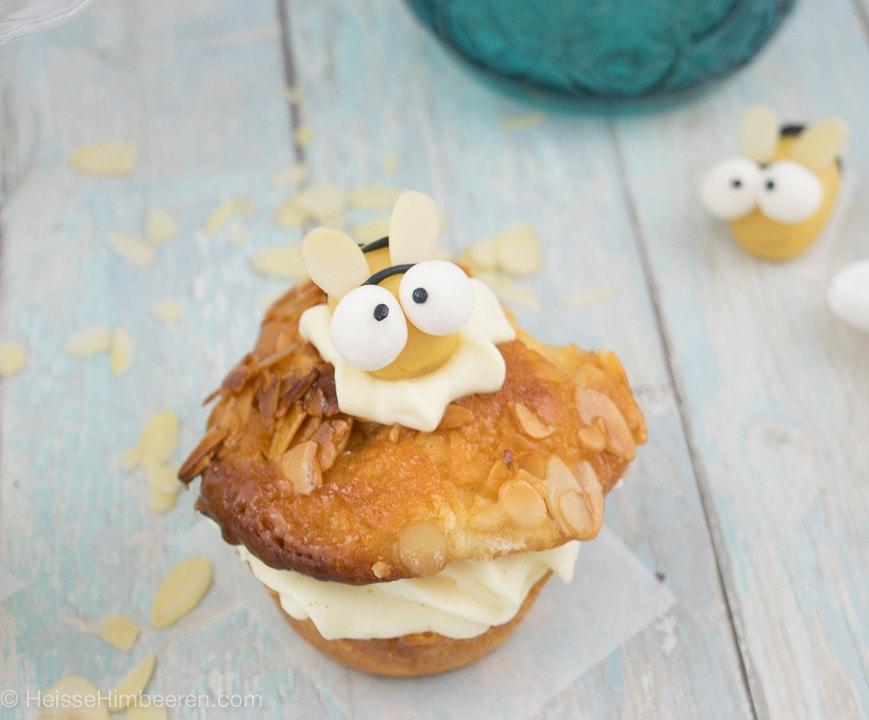 bienenstich muffins rezept