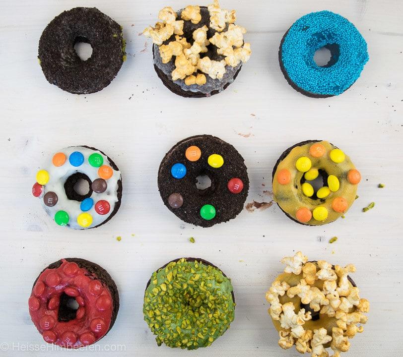 Neu verschiedene Donut Topping
