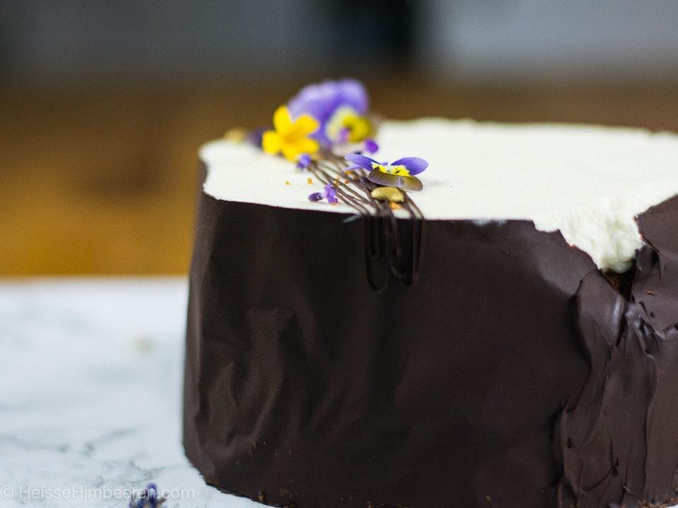 Ein Schokoladenmantel um den Mississippi Mud Pie