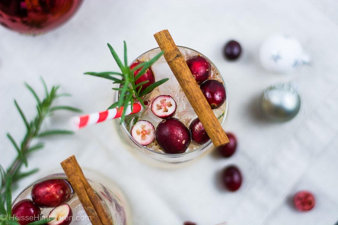 Ein Weihnachts-Cocktail