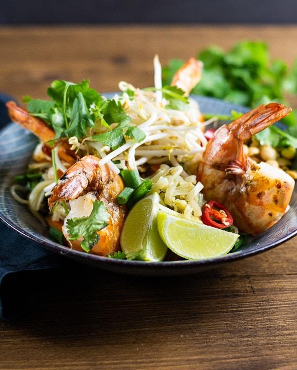 pad thai garnelen rezept