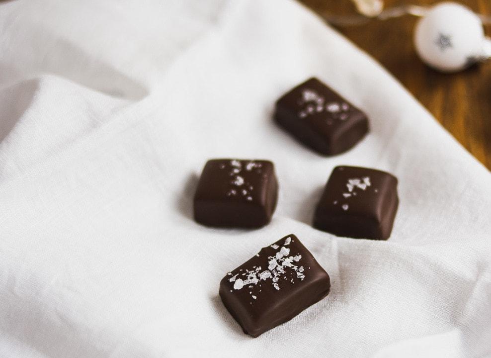 Schokoladen Toffees