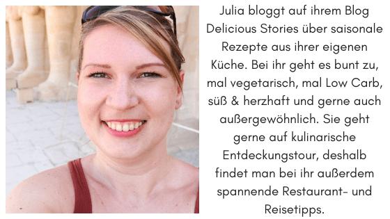Ein Bild von Julia von Delicious Stories