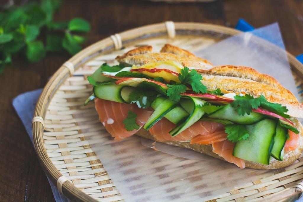 wasabi sandwich