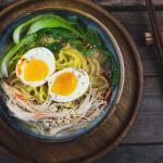 Ramen Rezept für Veggie Miso Ramen – 10 Minuten Rezept mit Video