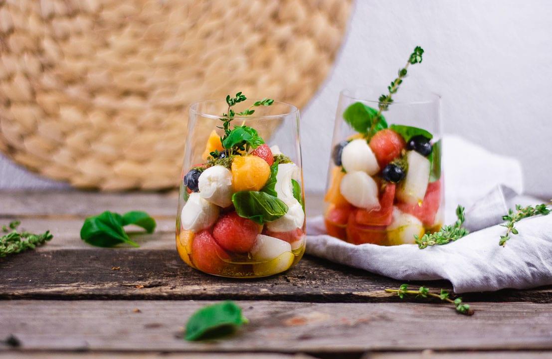 Salate zum mitnehmen ins Büro