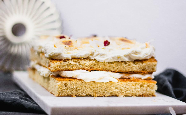 Der Mascarpone Bananen Kuchen