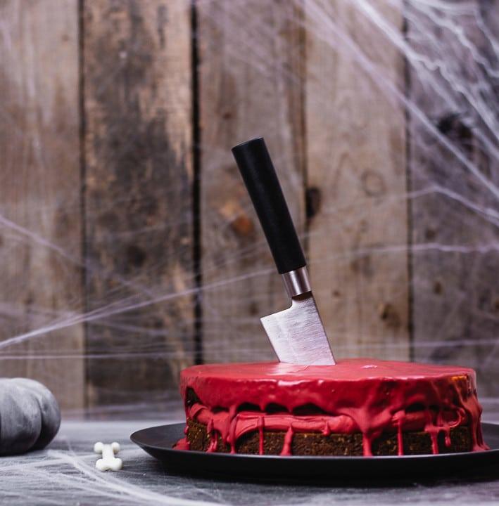 blutiger kuchen
