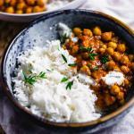 Schnelles Kichererbsen Curry in 25 Minuten – Veggie & Einfach (Video)