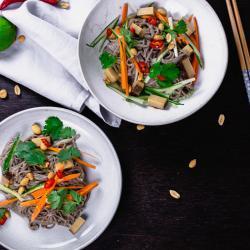 Soba Noodles Salat