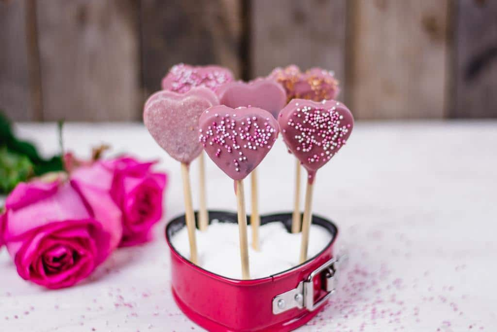 Cake Pops zum Valentinstag