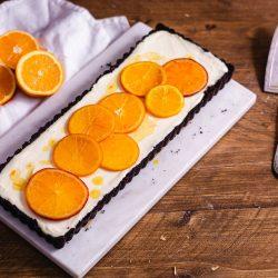 Schnelle Orangen Mousse Tarte