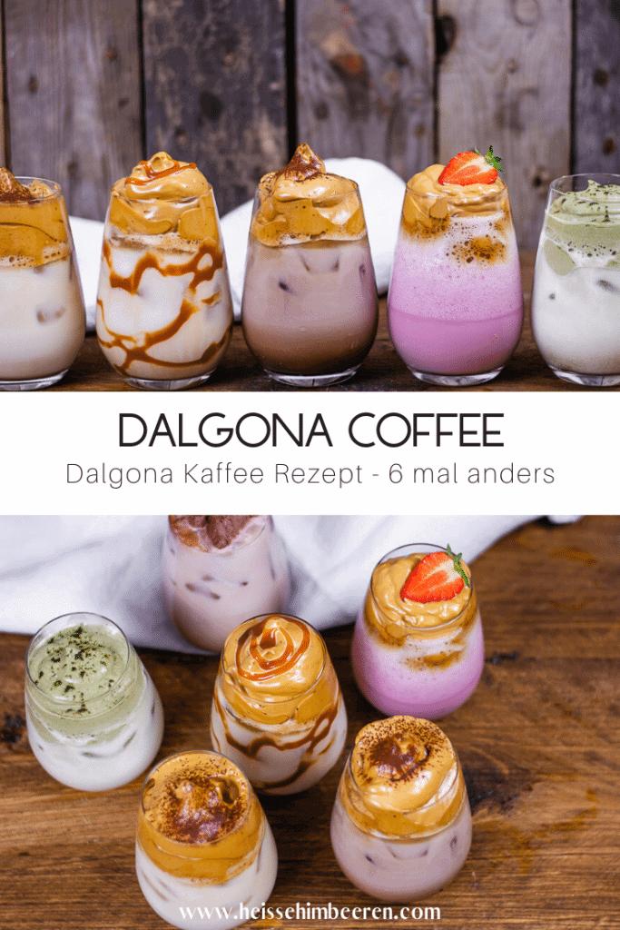 Dalgona Kaffee Rezept Grafik