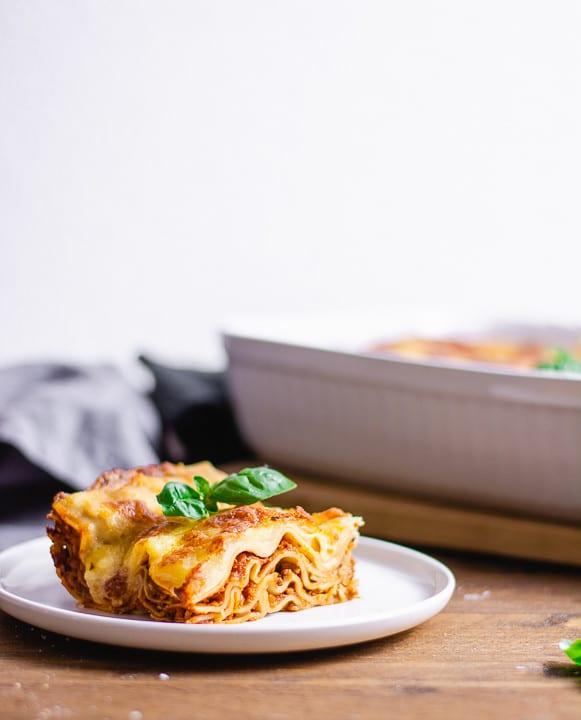 Ein Lasagne Rezept italienisch