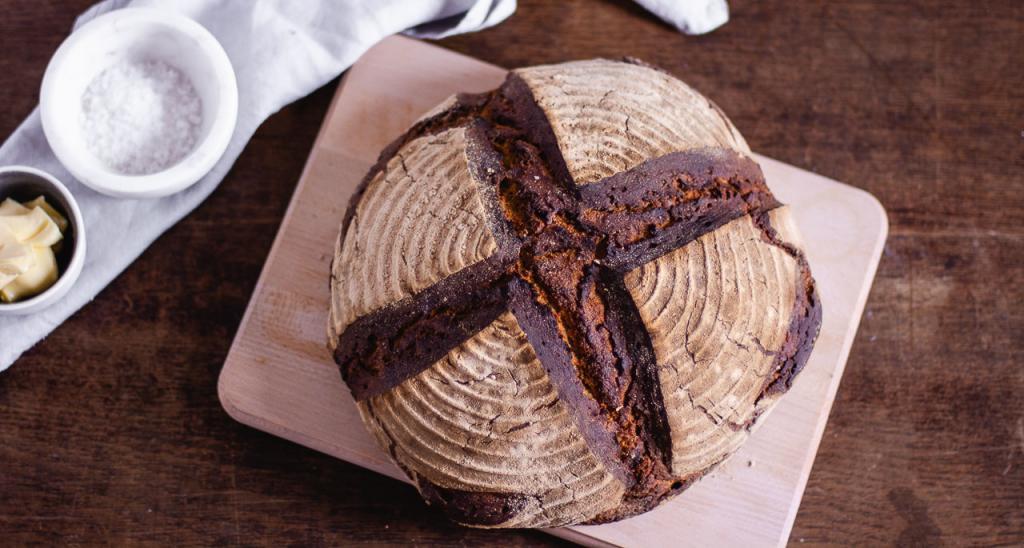 Ein Brot selber backen